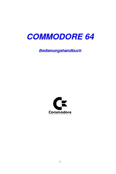 Commodore64 Beschreibung