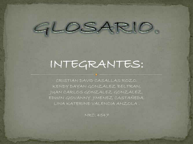 Glosario - copia