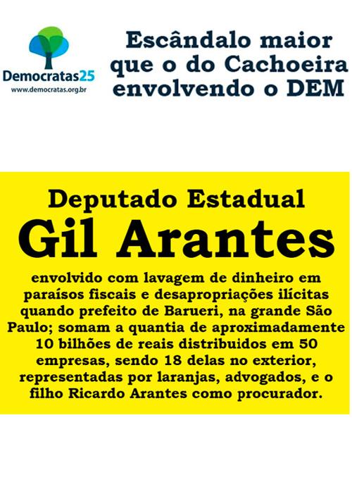 Denuncias Gil Arantes