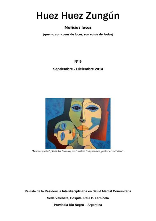 Huez Huez Zungún - Revista de Residentes de Valcheta - OctDic 20