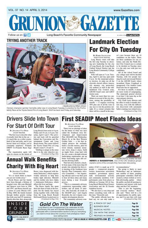 Grunion Gazette | April 3, 2014