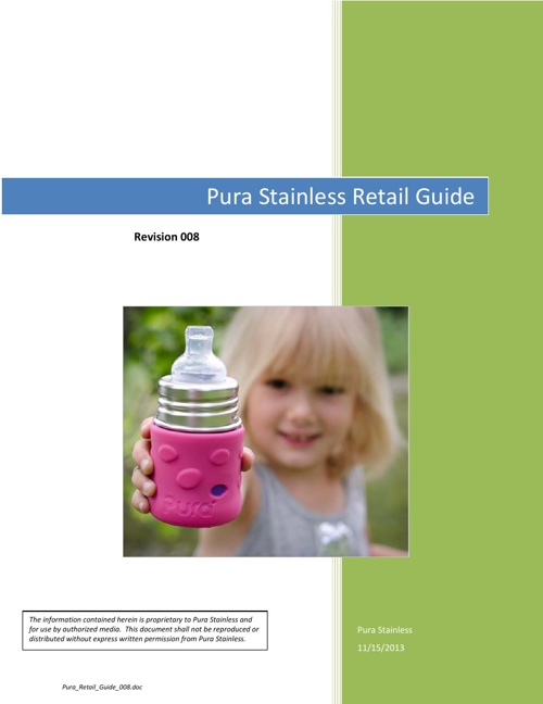 Pura Stainless 2014 Retail Guide