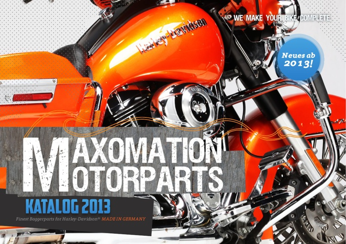MAXOMATION MOTORPARTS - Katalog 2013