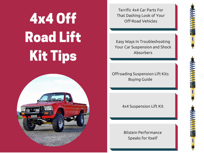 4x4 Off Road Vehicle Lift Kit Tips