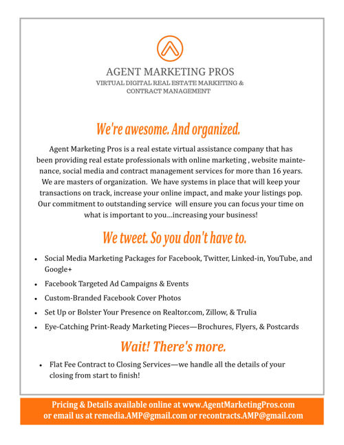 Agent Marketing Pros