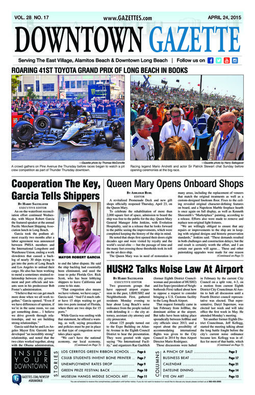 Downtown Gazette  |  April 24, 2015