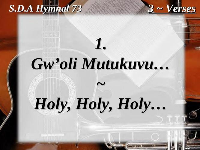 ENNYIMBA ZA KRISTO - LUGANDA SDA CHURCH HYMNAL