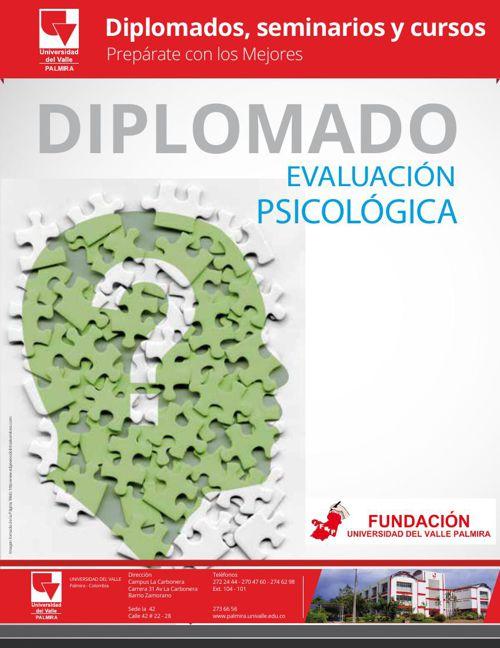 Diplomado Evaluación Psicológica