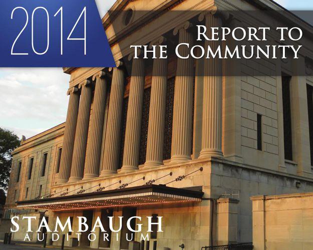 Stambaugh Auditorium 2014 Report to the Community