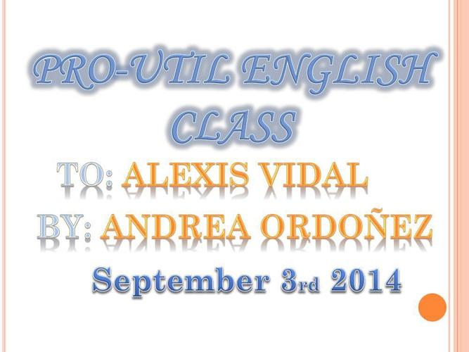 basic information Andrea ordóñez