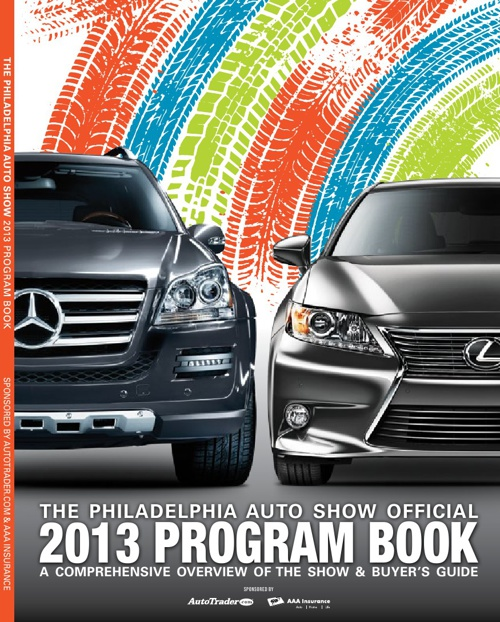 2013 Philadelphia Auto Show Program Book