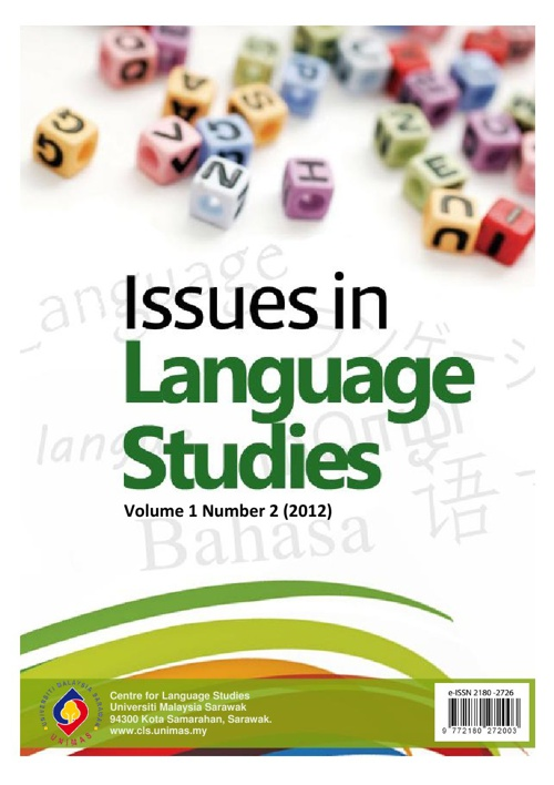 Issues in Language Studies Vol. 1 No. 2