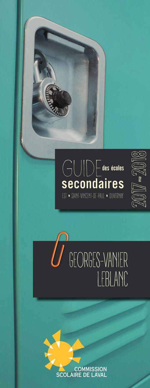 Guide  Georges-Vanier et Leblanc 2017-2018