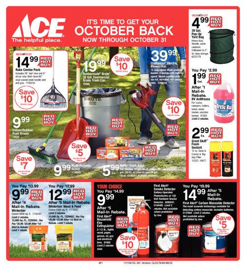 IT'S TIME TO GET YOUR OCTOBER BACK!