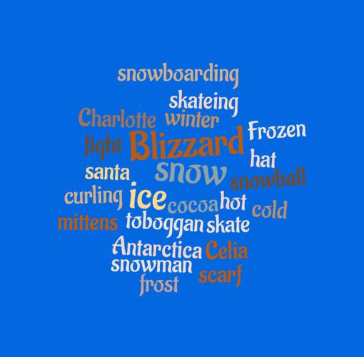 Mrs. Walden's Winter Wordles
