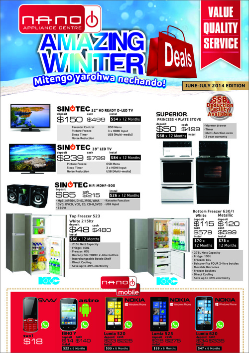 NANO Amazing Winter Deals