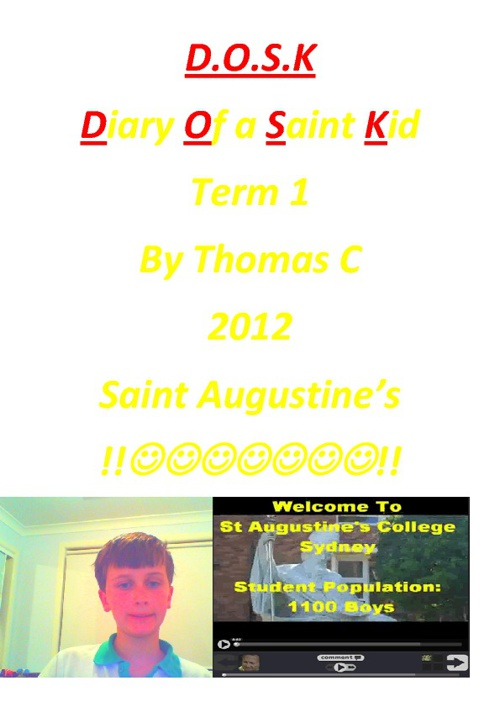 Diary of a Saint Kid by Thomas