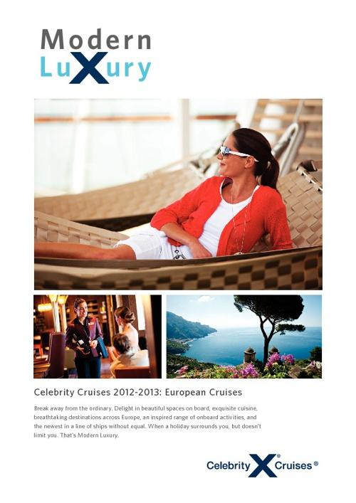Celebrity Cruises - Cruise Brochure