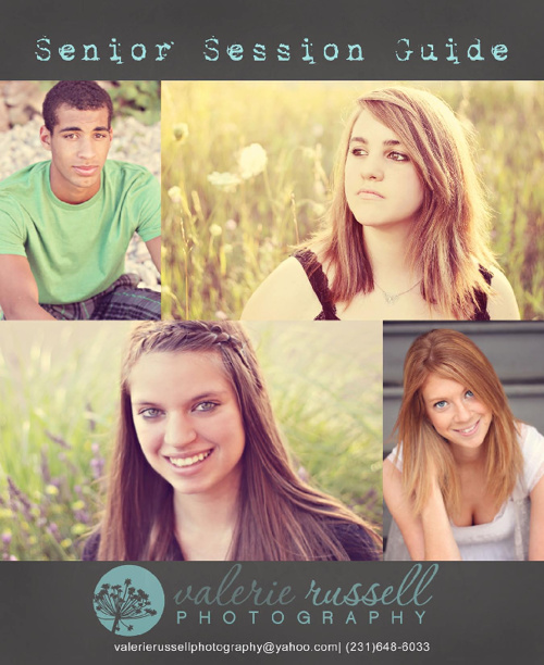 Valerie Russell Photography Senior Session Guide