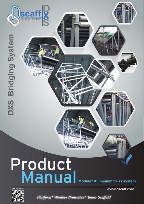 DXS-Product Manual- Modular Aluminium truss system.