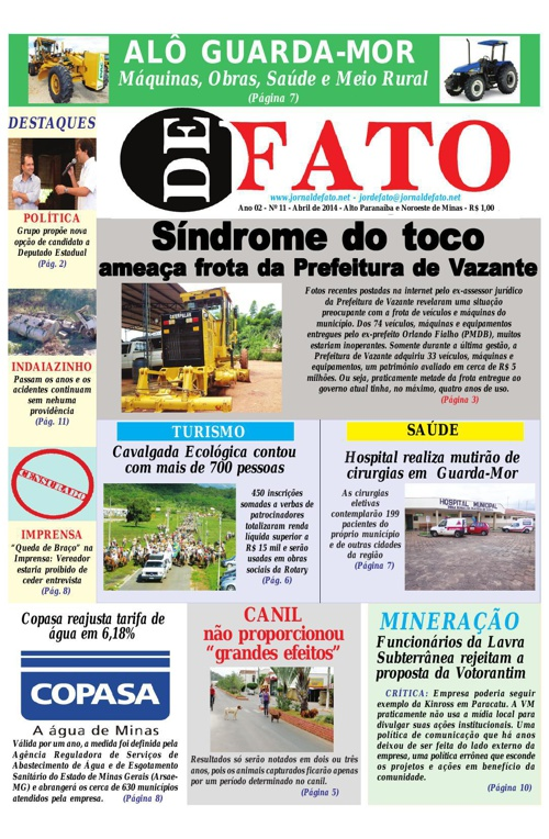 Jornal De Fato 11ª Edição