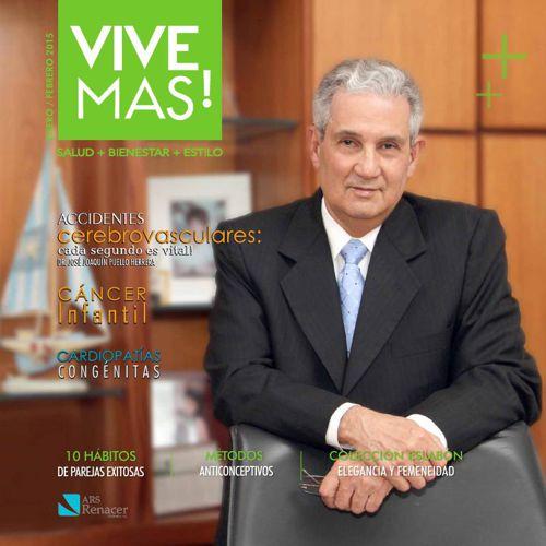 Revista Vive Mas! enero febrero 2015