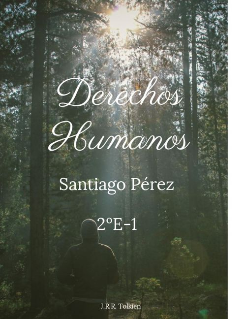 Santiago Pérez Díaz González  2ºE-1 Artículo Argumentativo