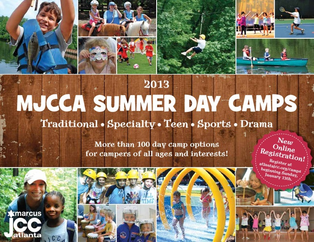 MJCCA Day Camps Catalog 2013