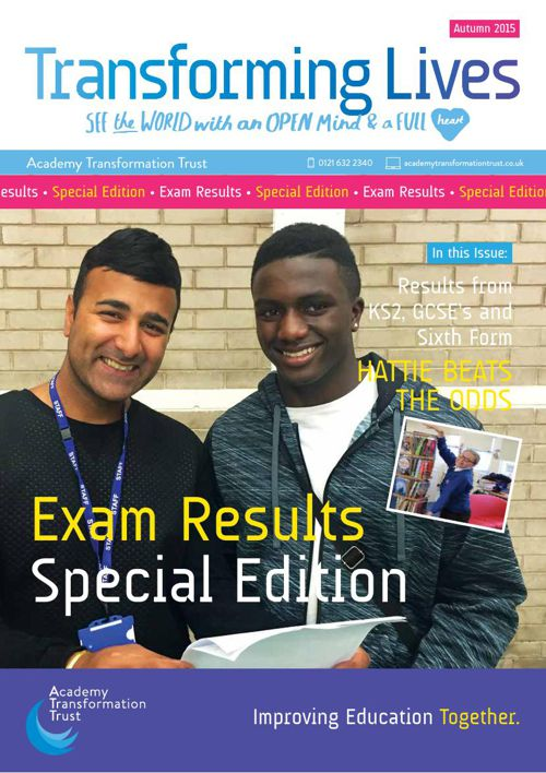 The Trust Newsletter - 2015 Results Special