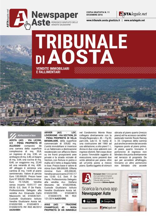 Aosta dicembre 2016