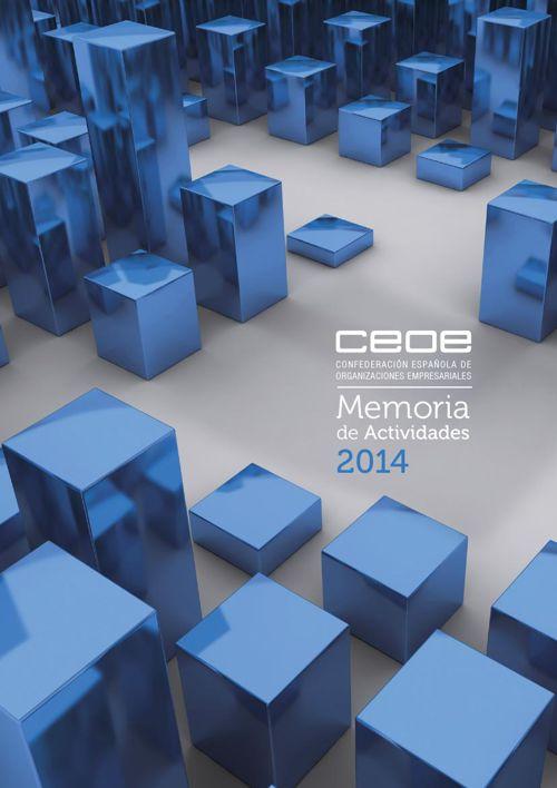 CEOE - MEMORIA DE ACTIVIDADES 2014
