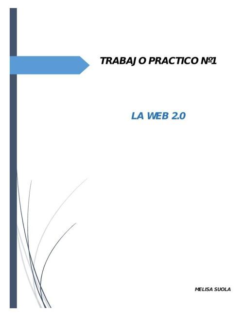 TP 1 LA WEB SOCIAL
