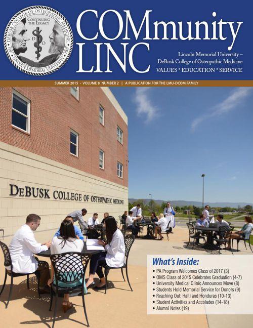 COMmunity Linc - Summer 2015 - LMU-DCOM