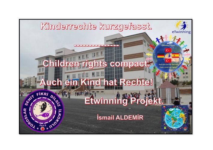 Kinderrechte/ Children rights/ Çocuk Hakları Özet