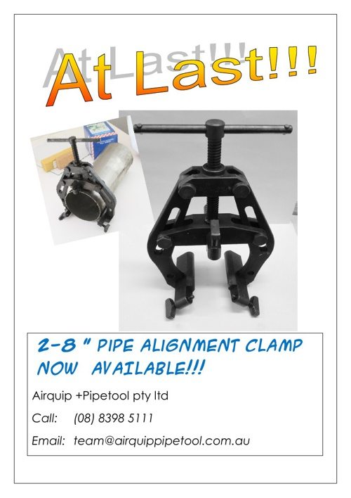Pipe Handling & Fitup