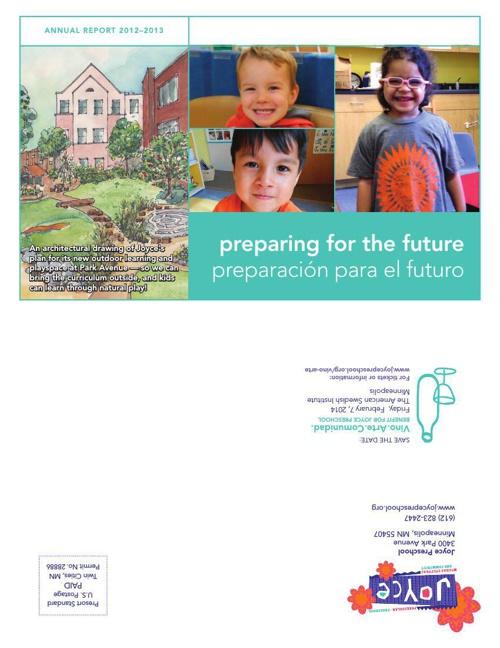 Preescolar Joyce - Reporte Anual 2012-13 Bilingüe