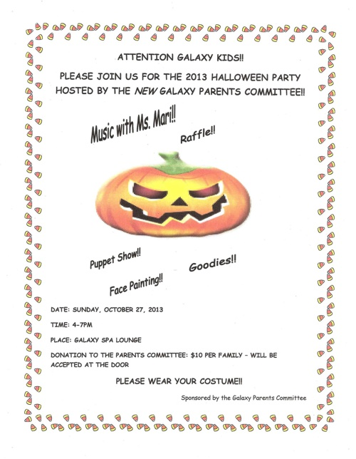 Galaxy Towers Events