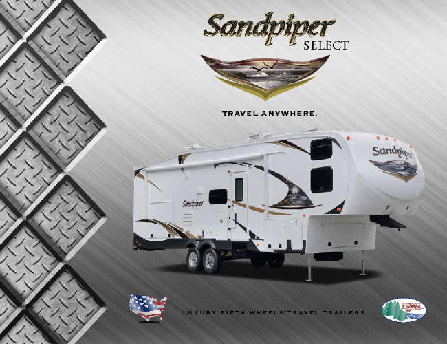 Sandpiper Select by Forestriver RV brochure