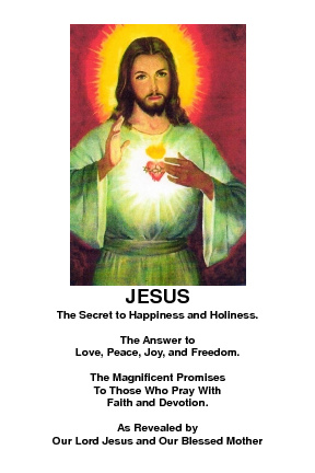 JESUS: The Secret to Happiness and Holiness