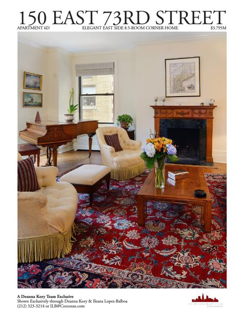150 East 73rd Street Apartment 6D