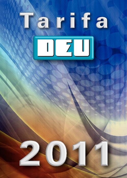 Catálogo Tarifa productos DEU 2011