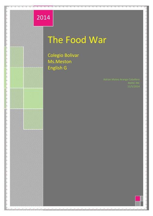 The Food War
