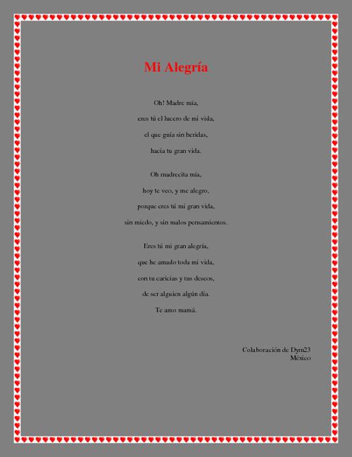 Copy of Feliz Dia De Las Madres