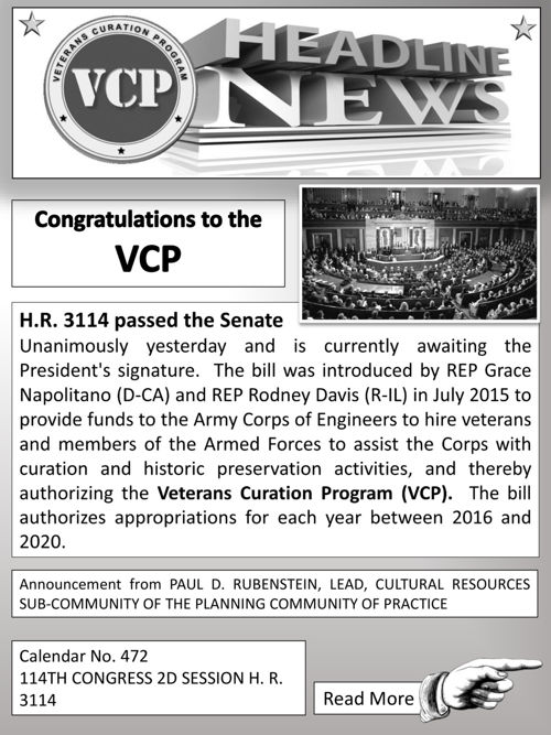 VCP Headline News