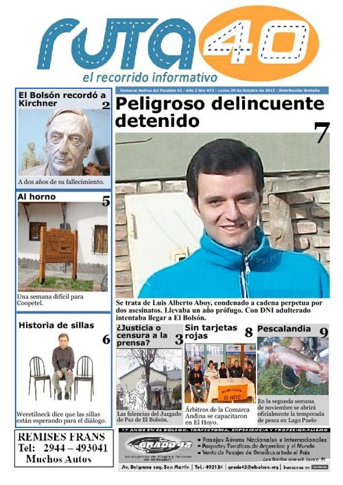 Diario Lunes 29 de Diciembre de 2012