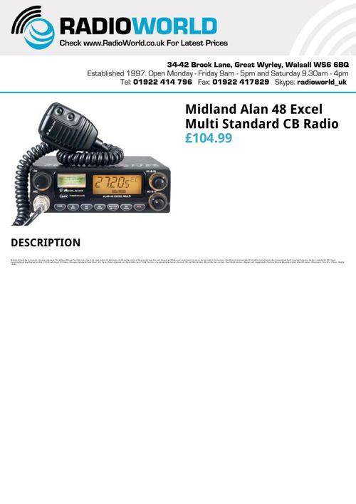 Midland Cb Radio