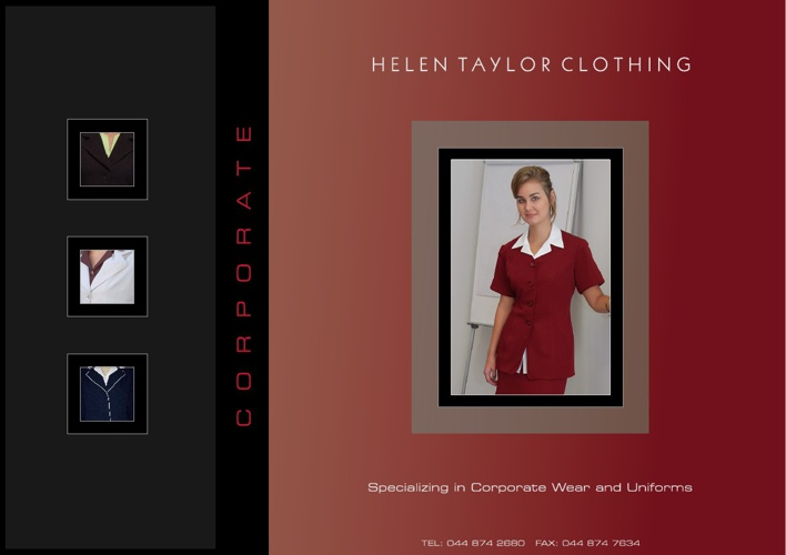 Helen Taylor Clothing Catalogue