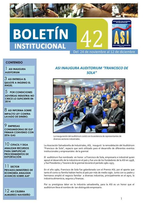 Boletín 42  diciembre 15