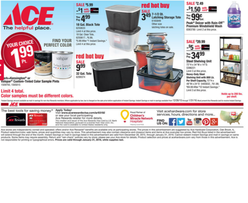 FRONTIER ACE HARDWARE APACHE JUNCTION