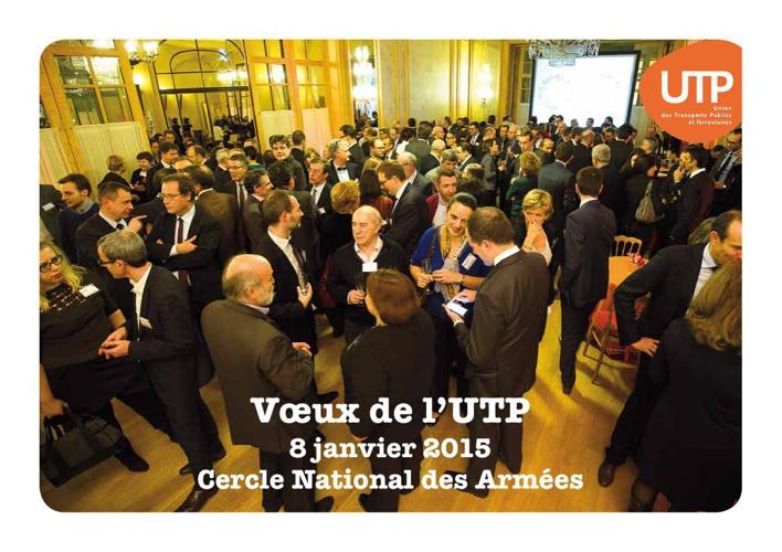 Vœux de l'UTP 2015 - le flipbook